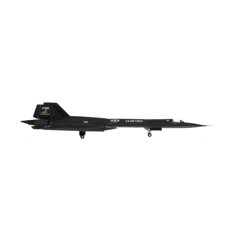 Herpa Usaf Lockheed Sr-71A Blackbird 9Th Srw Rosemary´S Baby-San Diecast [1:200]