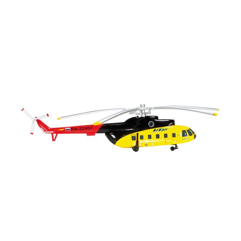 Herpa Ut Air Mil Mi-8 Diecast [1/200]