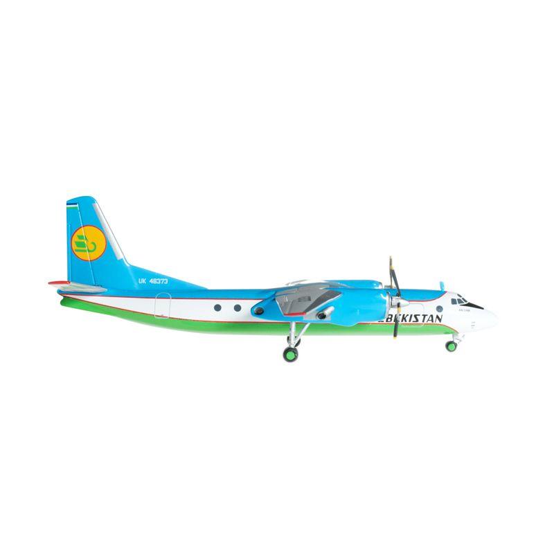 Herpa Uzbekistan Airways Antonov An-24B Diecast [1:200]