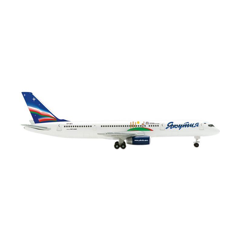 Herpa Yakutia Boeing 757-200 Children of Asia Diecast [1:500]