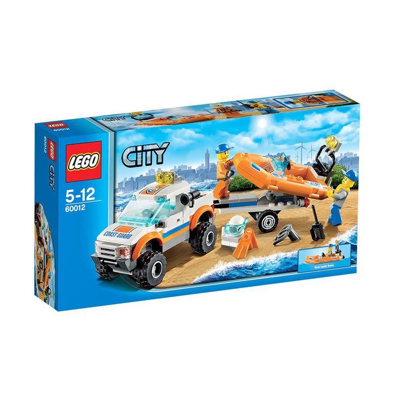 Lego 4x4 & Diving Boat 60012 Mainan Anak