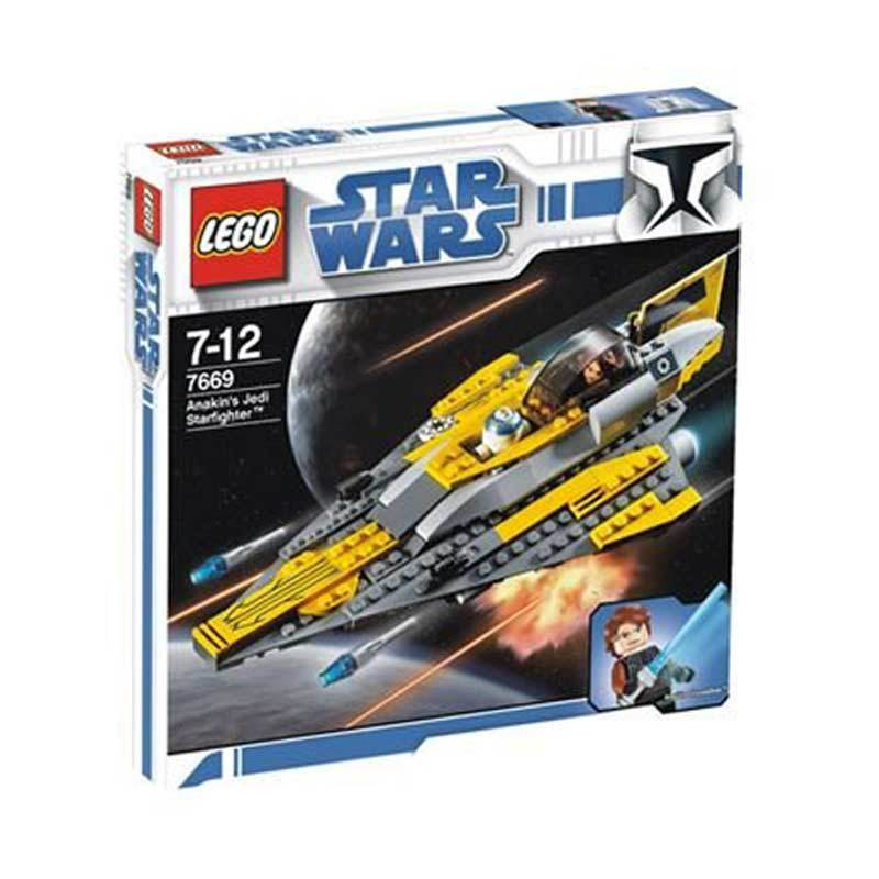 Lego Anakin's Jedi Starfighter 7669 Mainan Anak