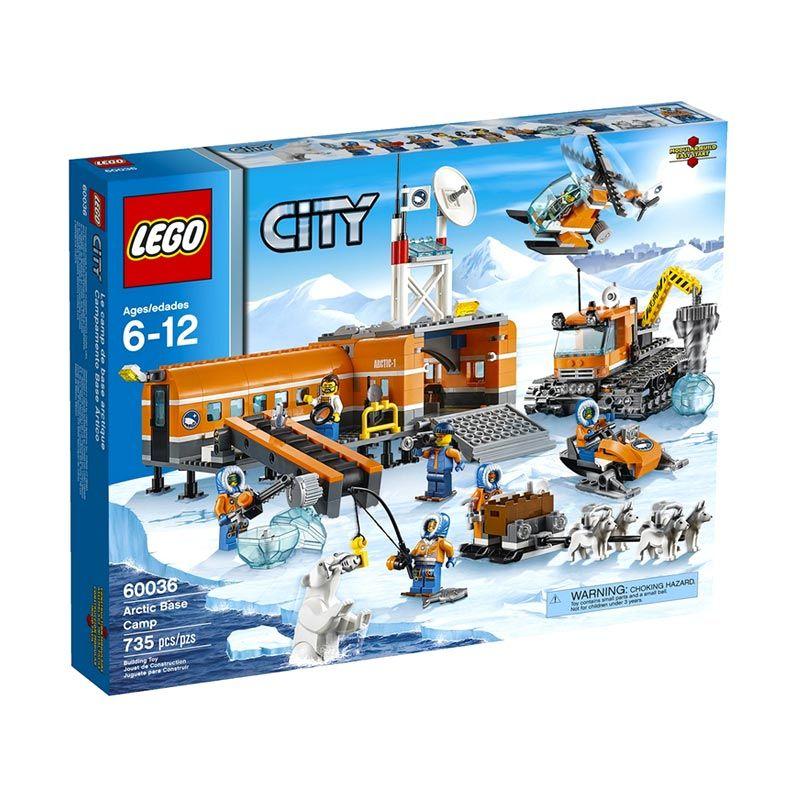 Lego Arctic Basecamp 60036 Mainan Anak