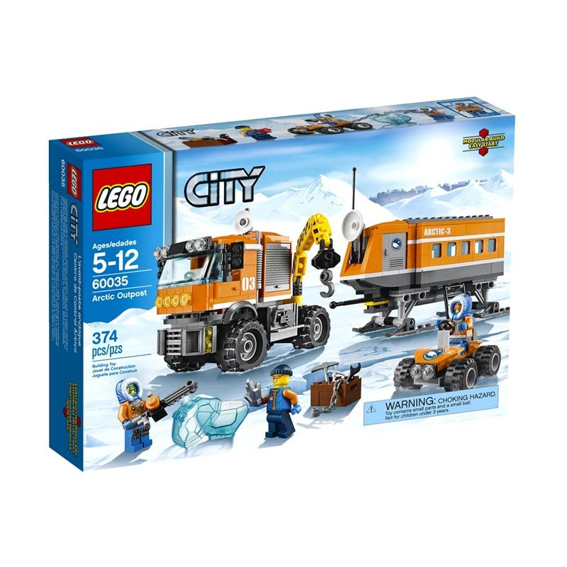 Lego Arctic Outpost 60035 Mainan Anak