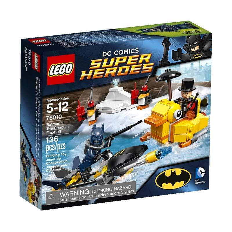 LEGO Batman: The Penguin Face Off 76010 Mainan Anak