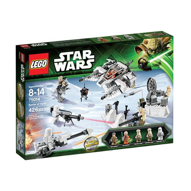 Lego Battle of Hoth L75014 Mainan Anak