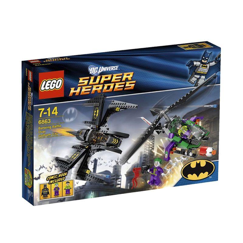 LEGO Batwing Battle Over Gotham City 6863 Mainan Anak