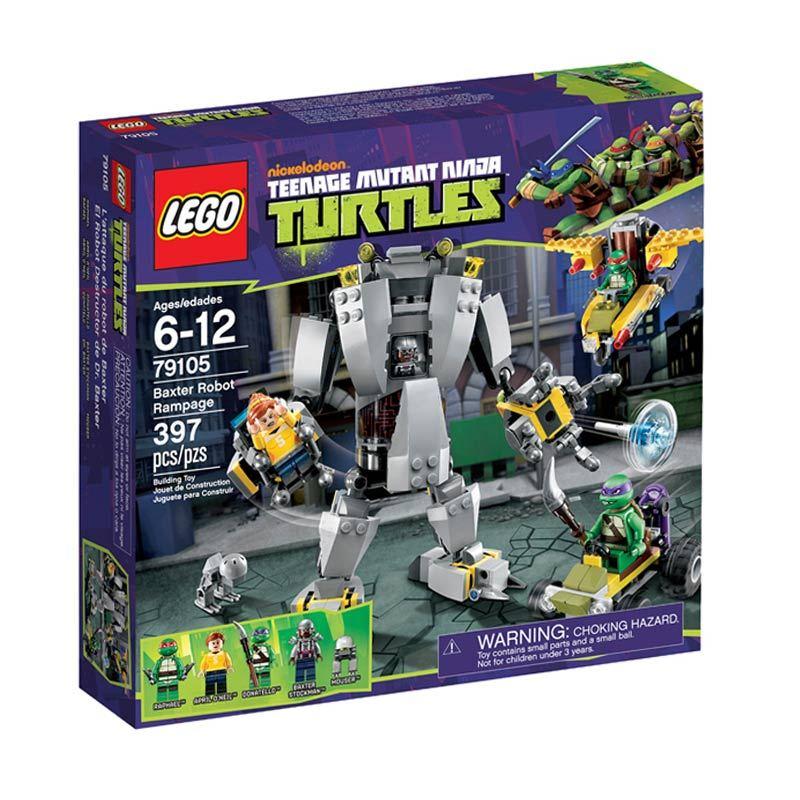 Lego Baxter Robot Rampage L79105 Mainan Anak