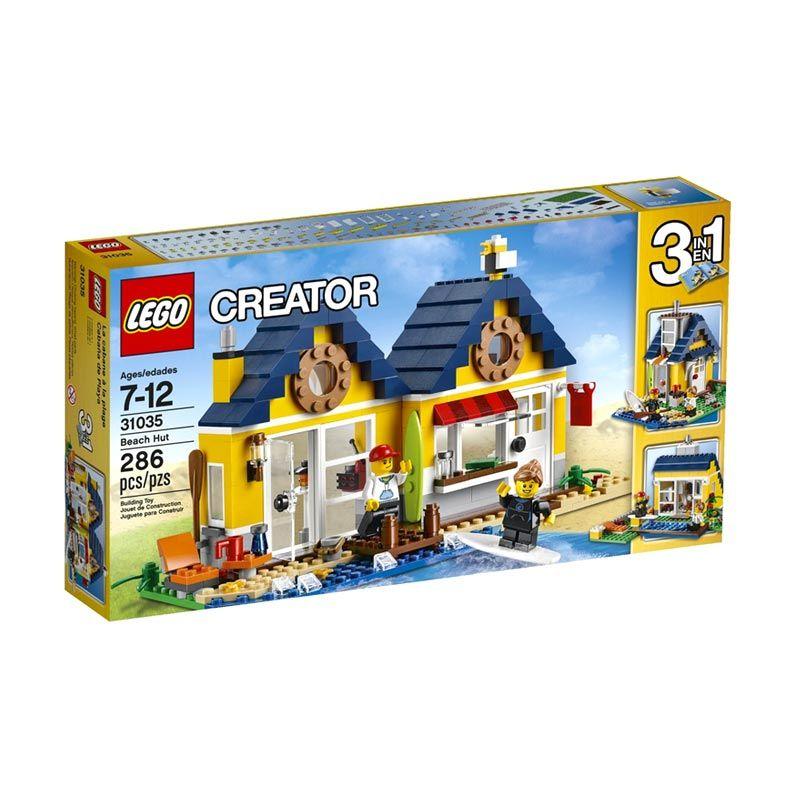 Lego Beach Hut 31035 Mainan Anak