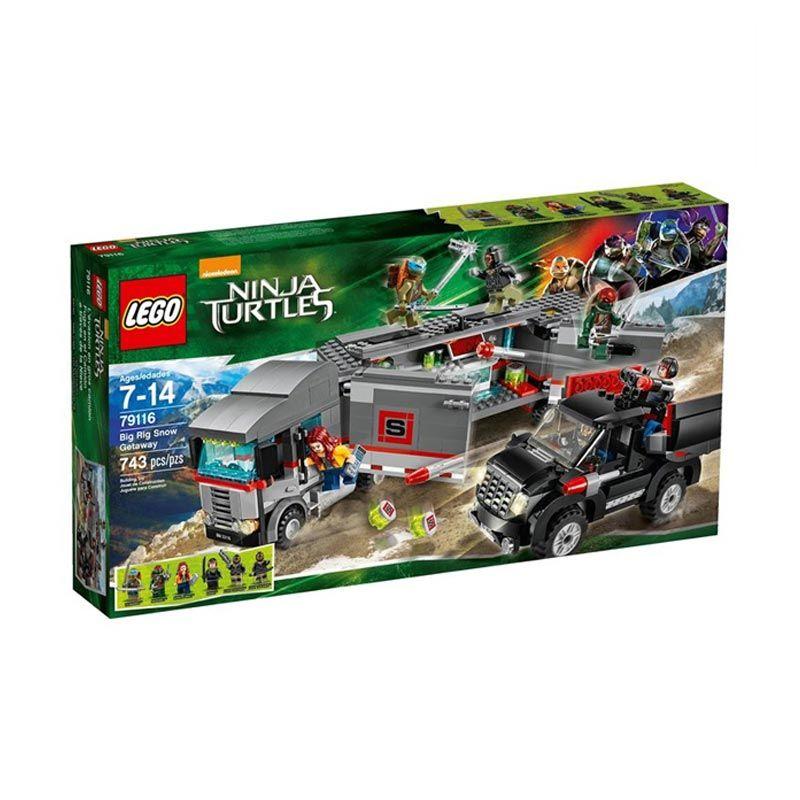 Lego Big Rig Snow Getaway 79116 Mainan Anak
