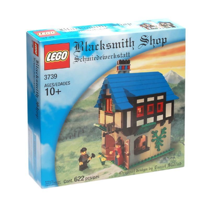LEGO Blacksmith Shop 3739 Mainan Anak