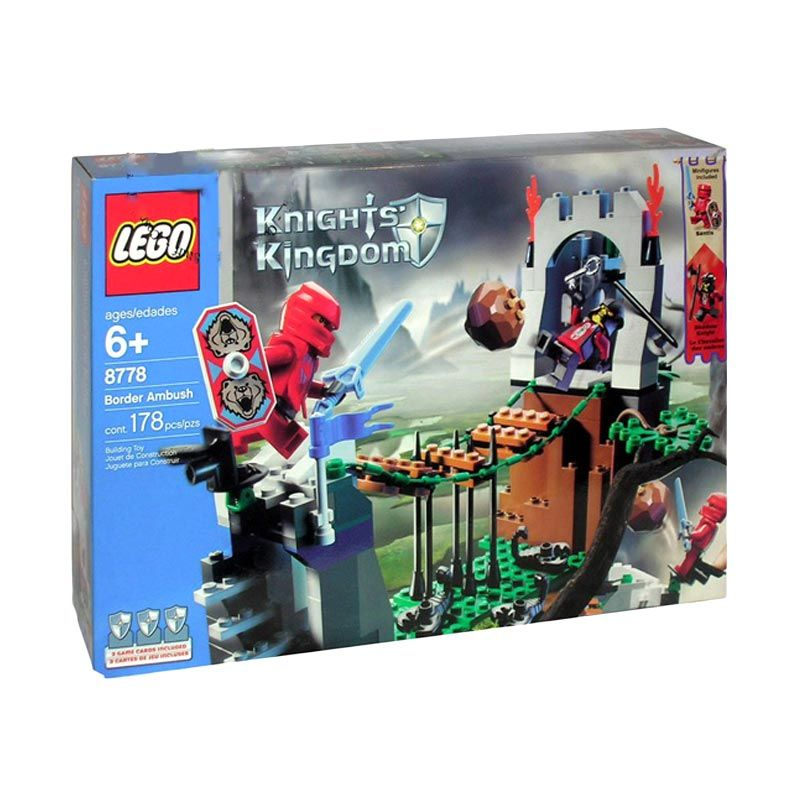 Lego Border Ambush 8778 Mainan Anak