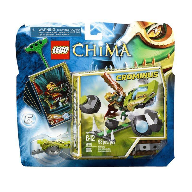 LEGO Boulder Bowling L70103 Mainan Anak