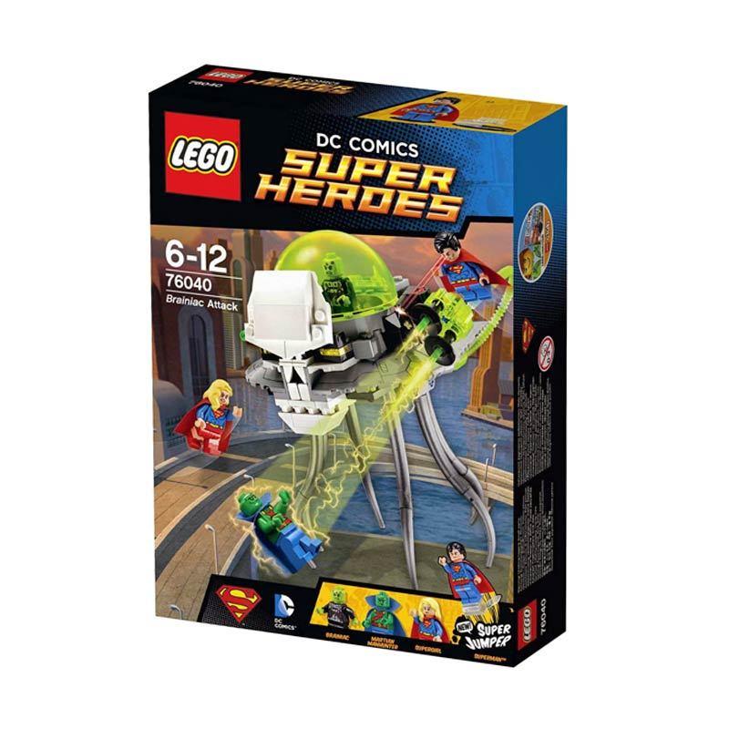 LEGO Brainiac Attack 76040 Mainan Anak