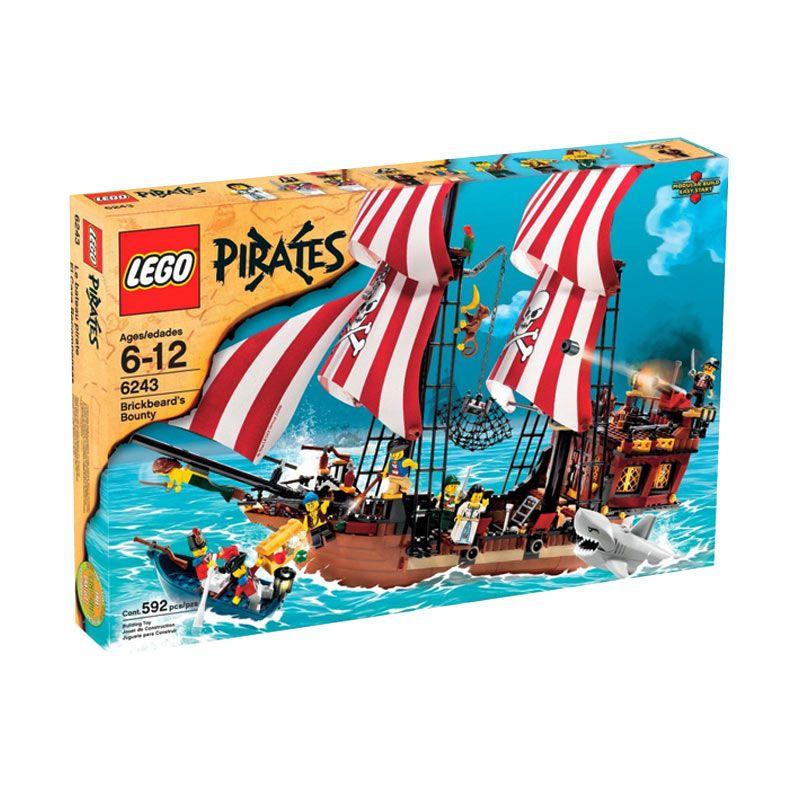 LEGO Brickbeard's Bounty 6243 Mainan Anak