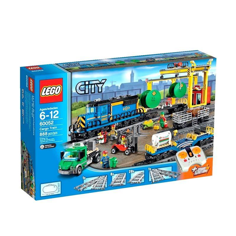 LEGO Cargo Train 60052 Mainan Anak