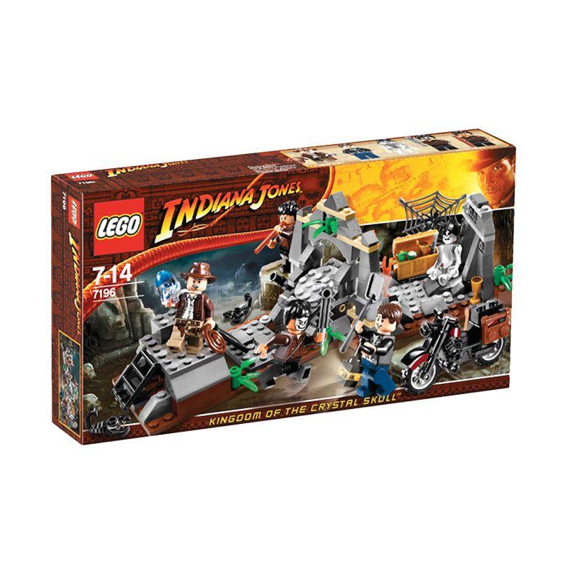 LEGO Chauchilla Cemetery Battle 7196 Mainan Anak