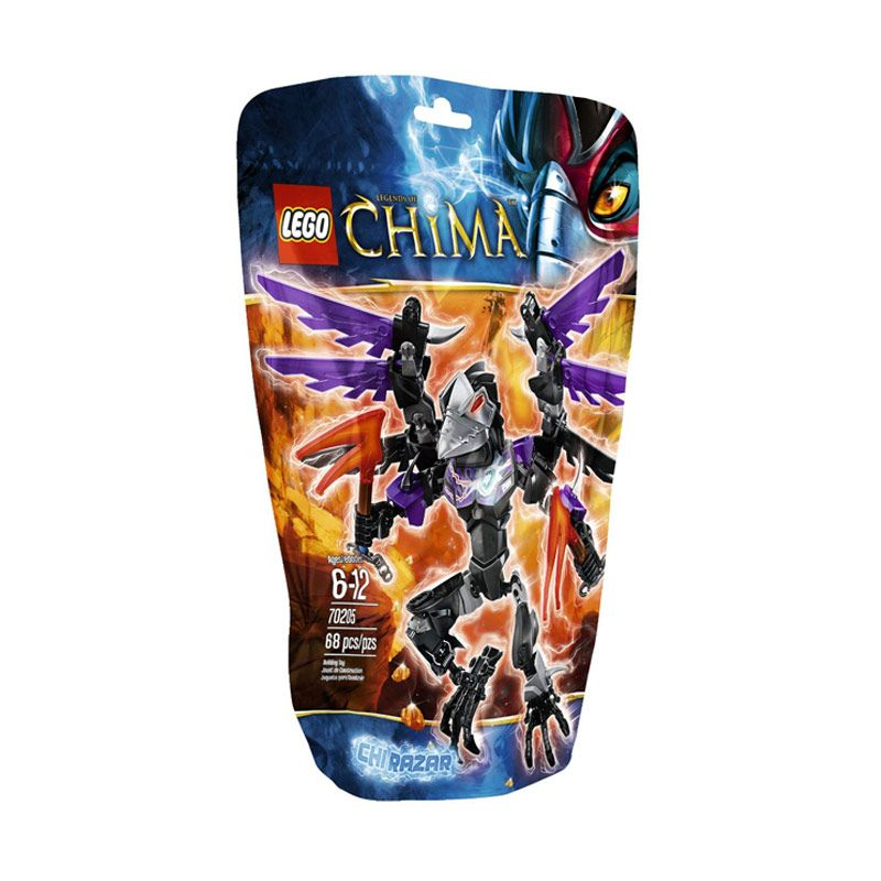 LEGO CHI Razar L70205 Mainan Anak