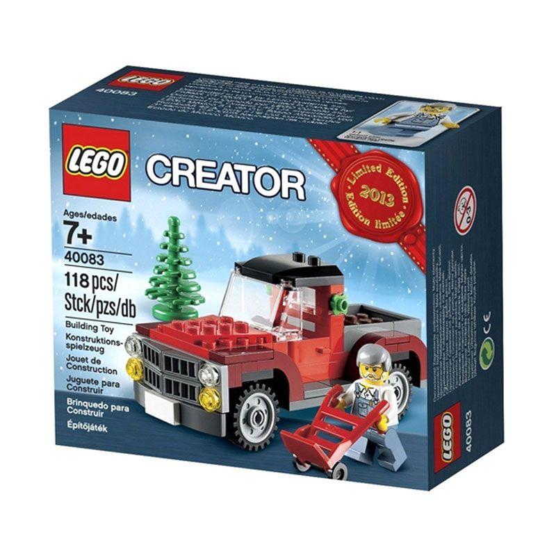 Lego Christmas Tree Truck 40083 Mainan Anak