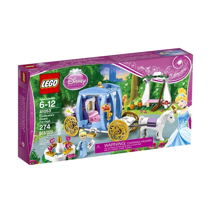 Lego Cinderella's Dream Carriage 41053 Mainan Anak
