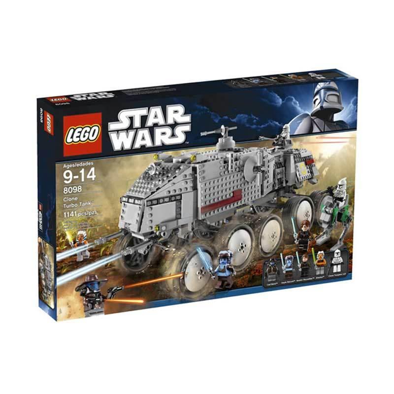 Lego Clone Turbo Tank 8098 Mainan Anak