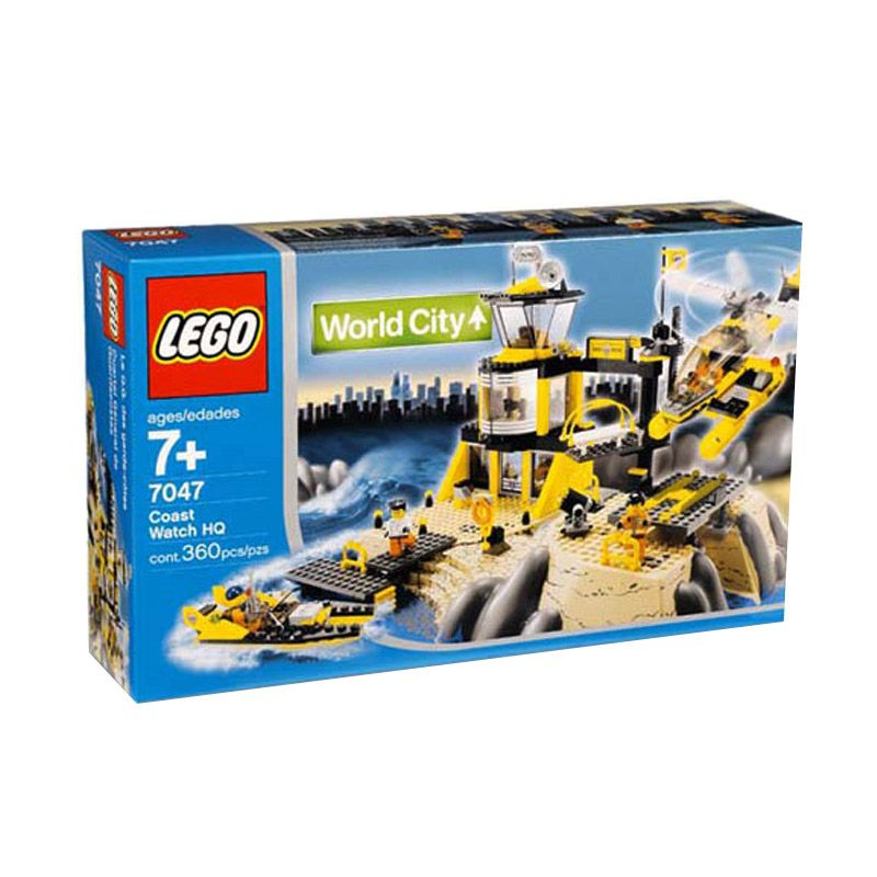 LEGO Coast Watch HQ 7047 Mainan Anak