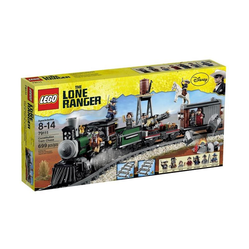 harga Lego Constitution Train Chase 79111 Mainan Anak Blibli.com