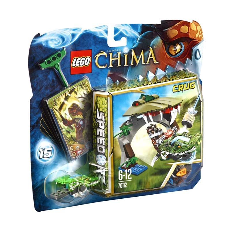 Lego Croc Chomp L70112 Mainan Anak