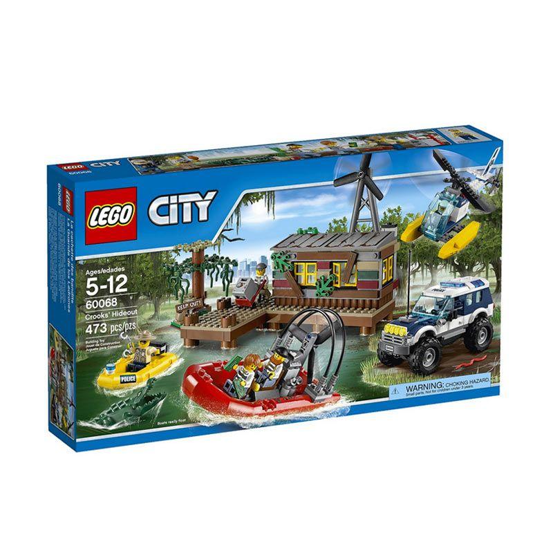Lego Crooks' Hideout 60068 Mainan Anak
