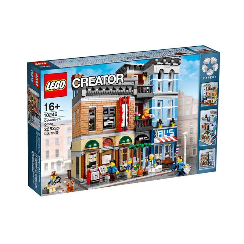 Lego Detective'S Office 10246 Mainan Anak