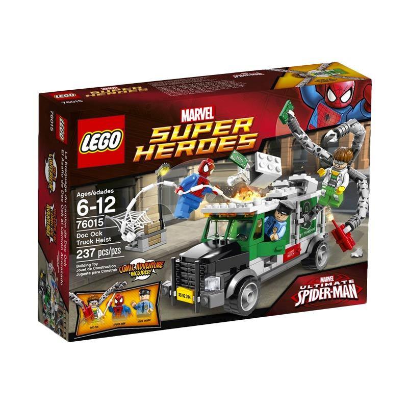 LEGO Doc Ock Truck Heist 76015 Mainan Anak