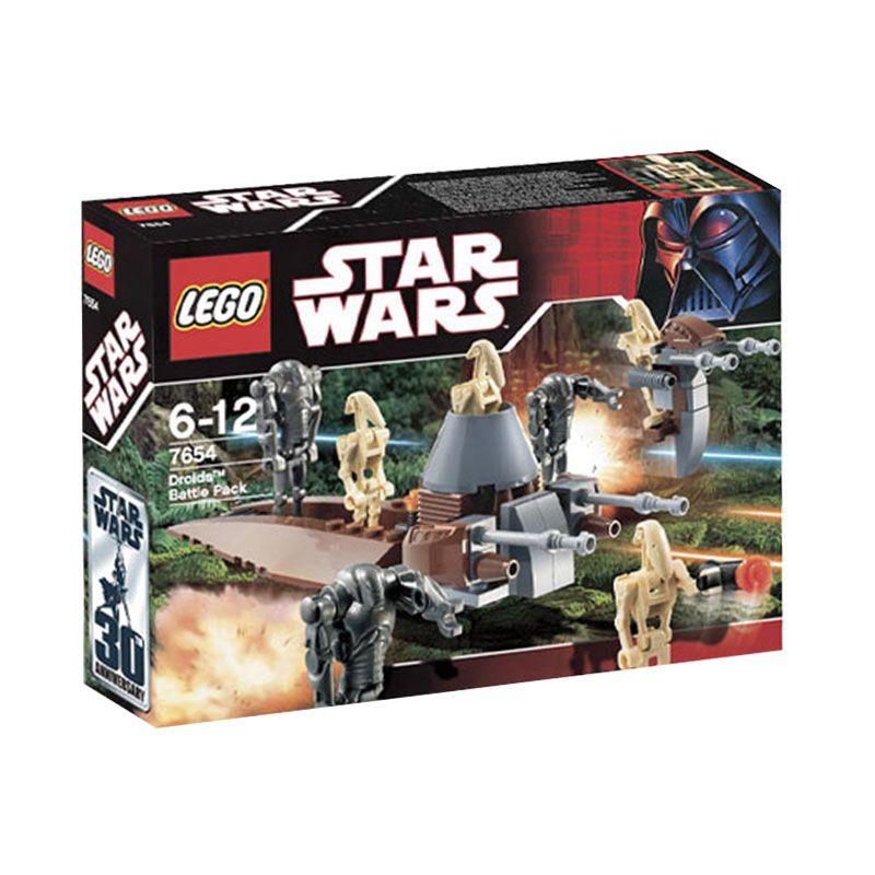 Lego Droids Battle Pack 7654 Mainan Anak