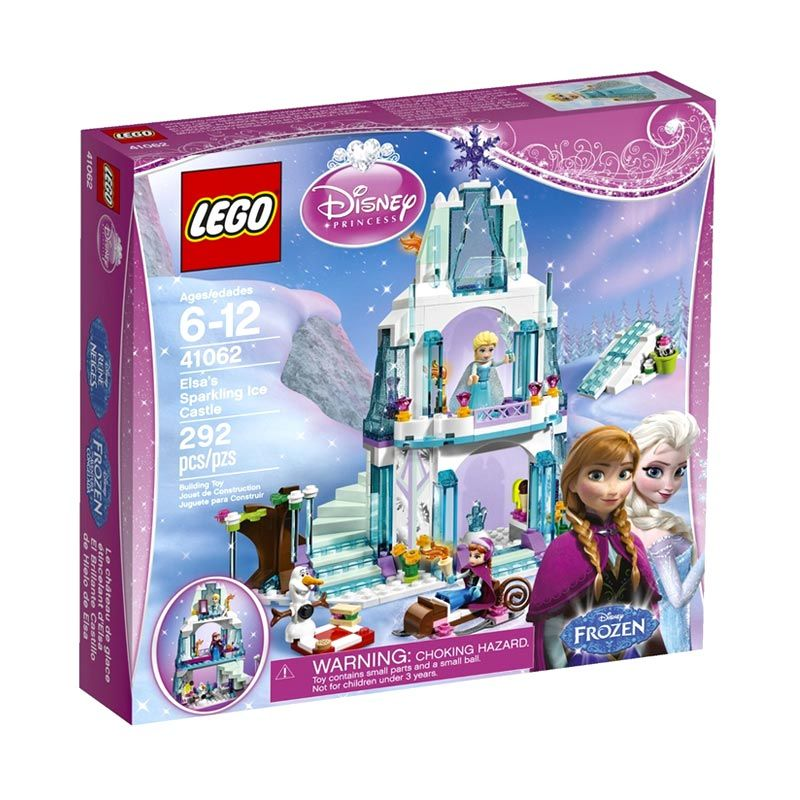 Lego Elsa's Sparkling Ice Castle 41062 Mainan Anak