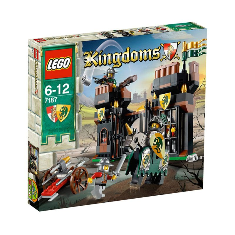 LEGO Escape from Dragon's Prison 7187 Mainan Anak