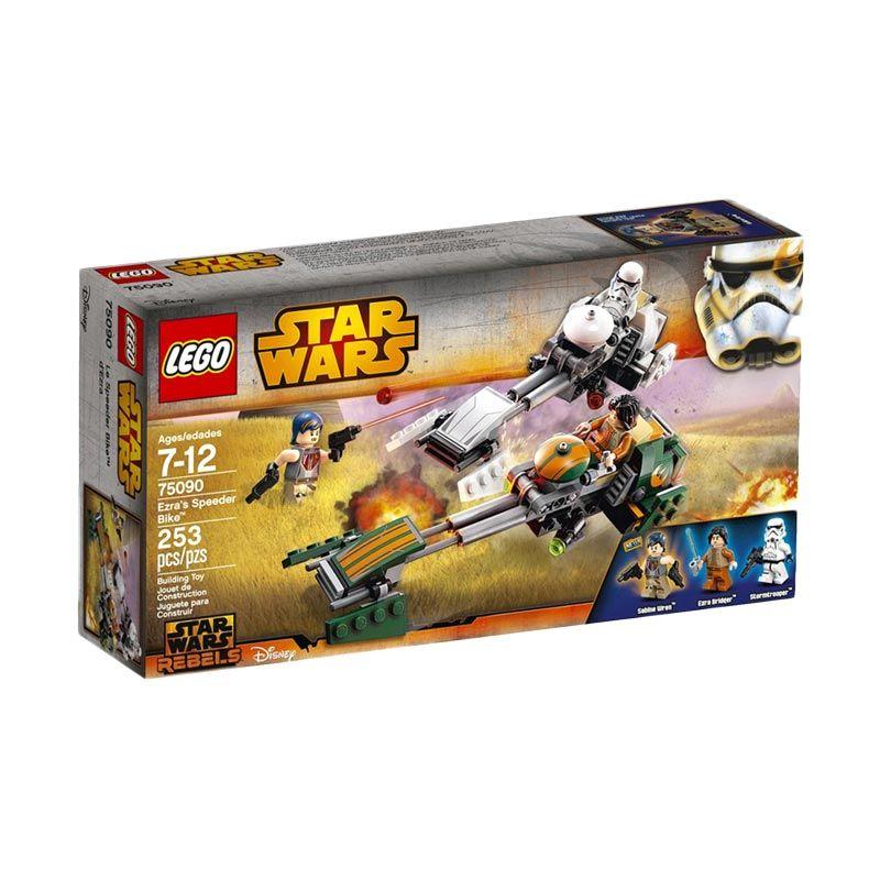 LEGO Ezra's Speeder Bike 75090 Mainan Anak