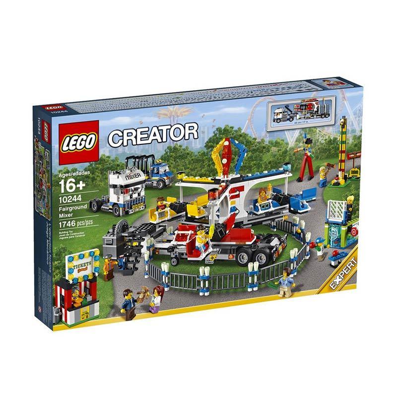 Lego Fairground Mixer 10244 Mainan Anak