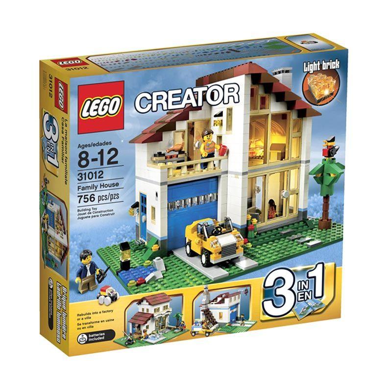 Lego Family House 31012 Mainan Anak