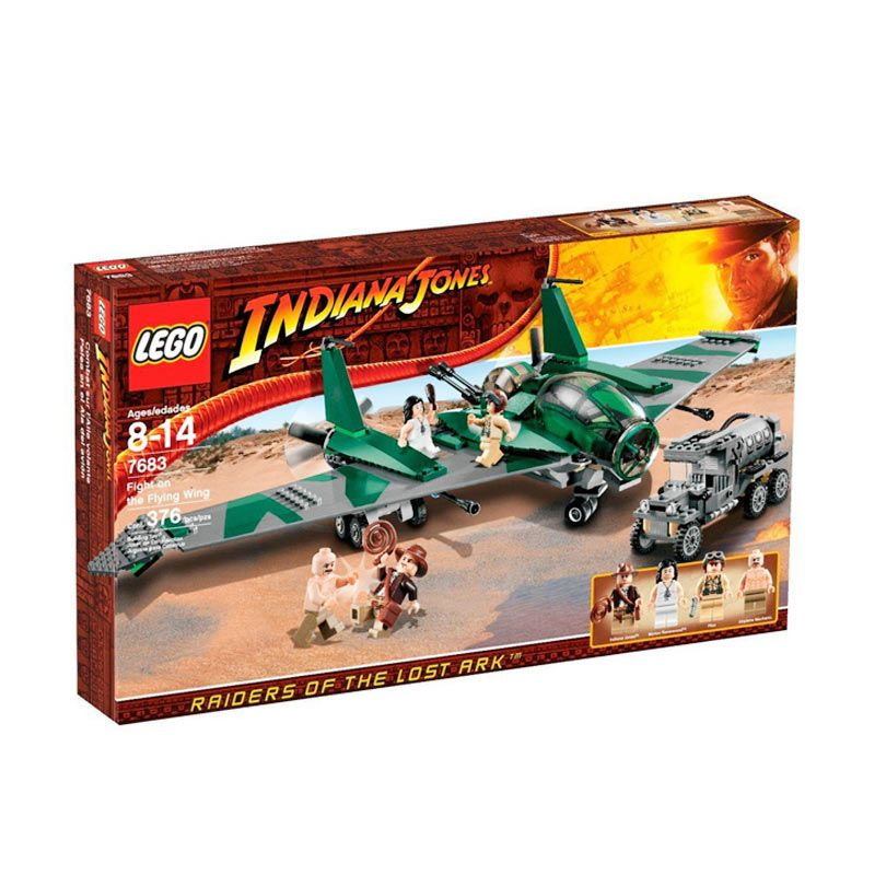 Lego Fight on the Flying Wing 7683 Mainan Anak