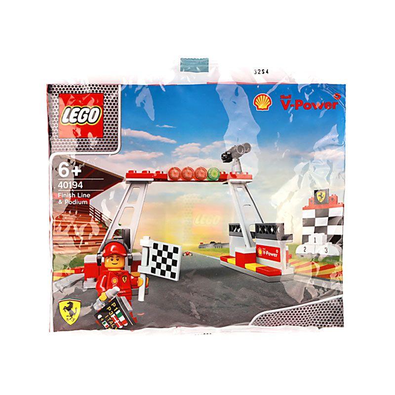 Lego Finish Line & Podium 40194 Mainan Anak