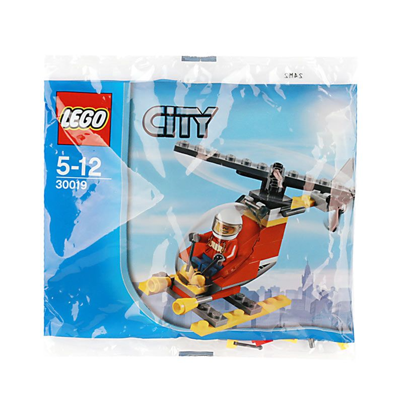 Lego Fire Helicopter 30019 Mainan Anak