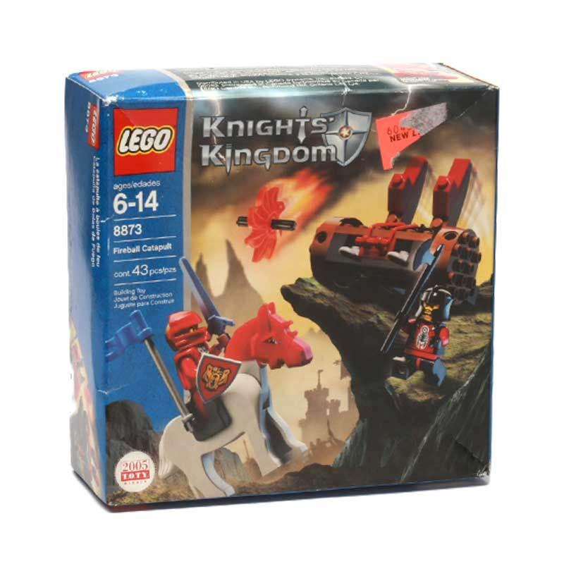 Lego Fireball Catapult 8873 Mainan Anak