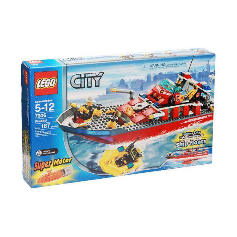 Lego Fireboat 7906 Mainan Anak