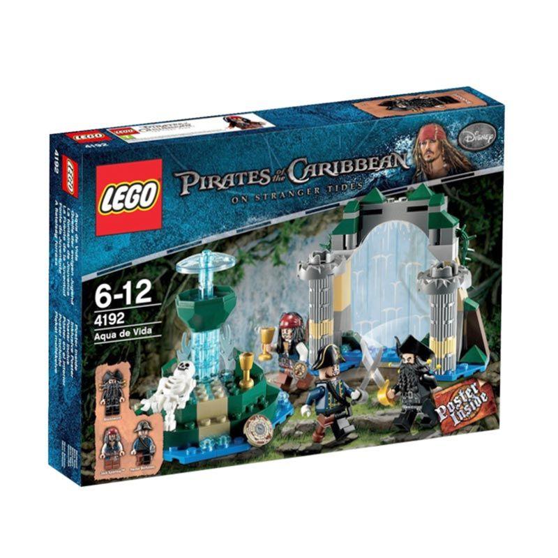 LEGO Fountain of Youth 4192 Mainan Anak