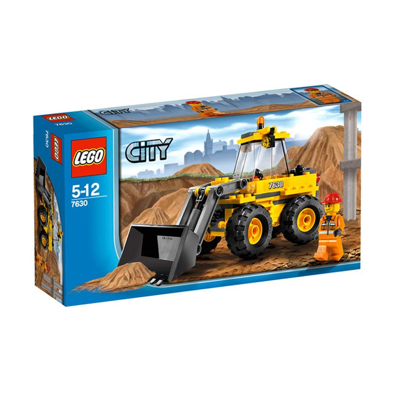 Lego FrontEnd Loader 7630 Mainan Anak