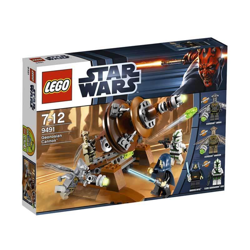 Lego Geonosian Cannon 9491 Mainan Anak