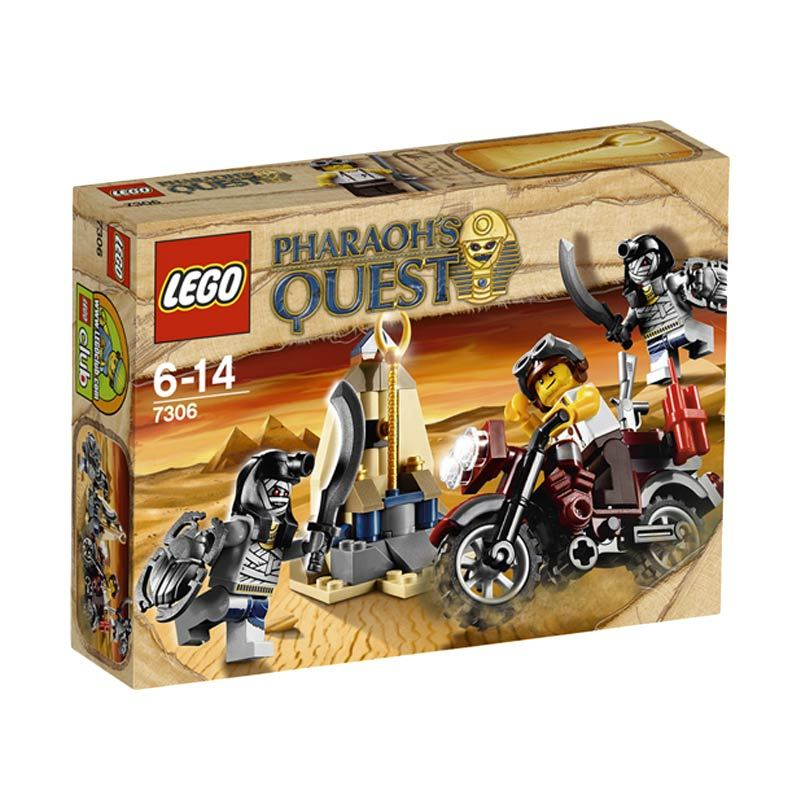 LEGO Golden Staff Guardians 7306 Mainan Anak