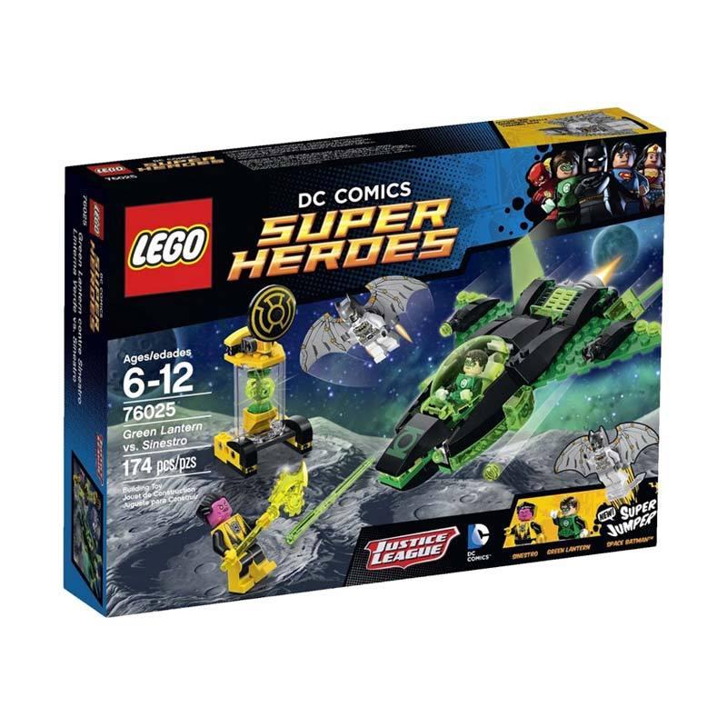 Lego Green Lantern vs. Sinestro 76025 Mainan Anak