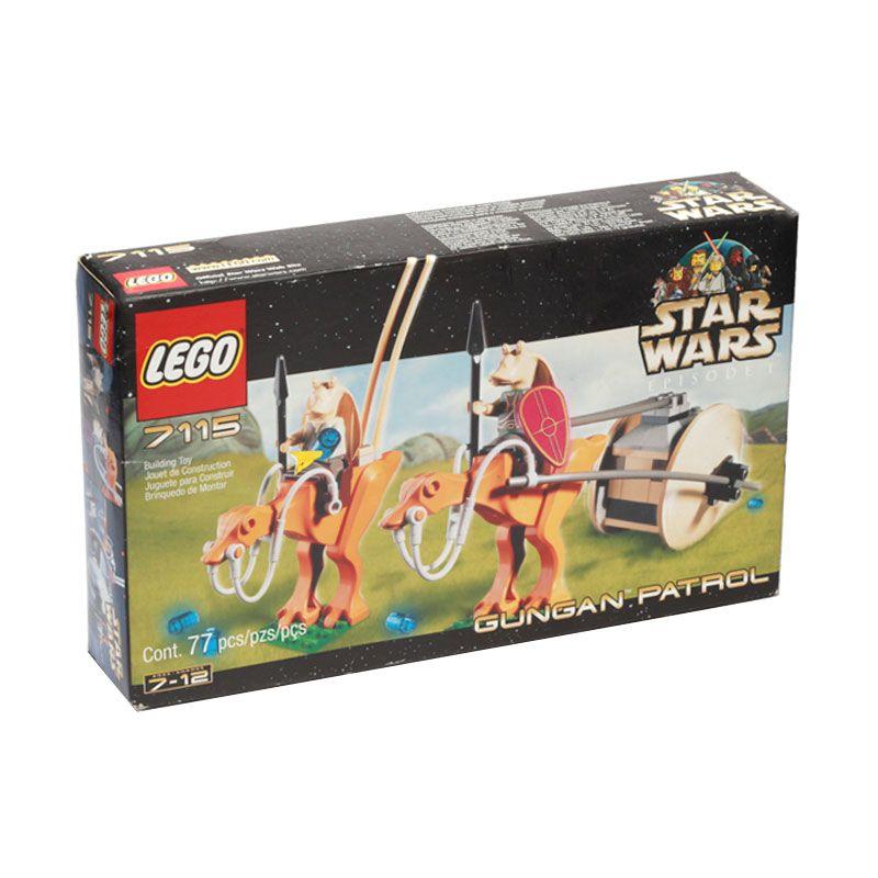 LEGO Gungan Patrol 7115 Mainan Anak