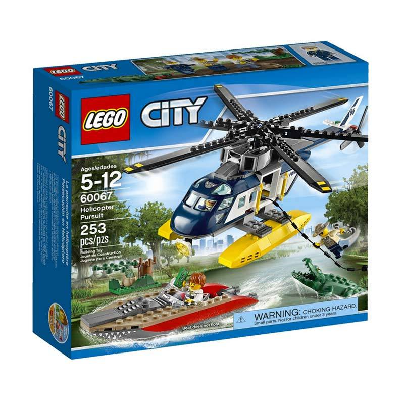 Lego Helicopter Pursuit 60067 Mainan Anak