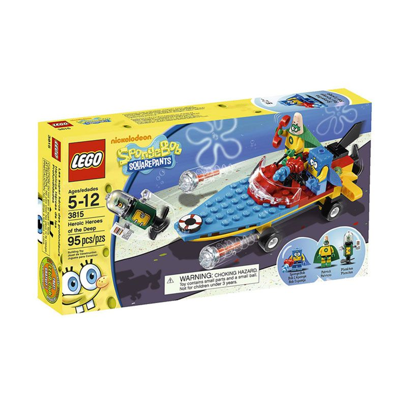 LEGO Heroic Heroes of the Deep 3815 Mainan Anak